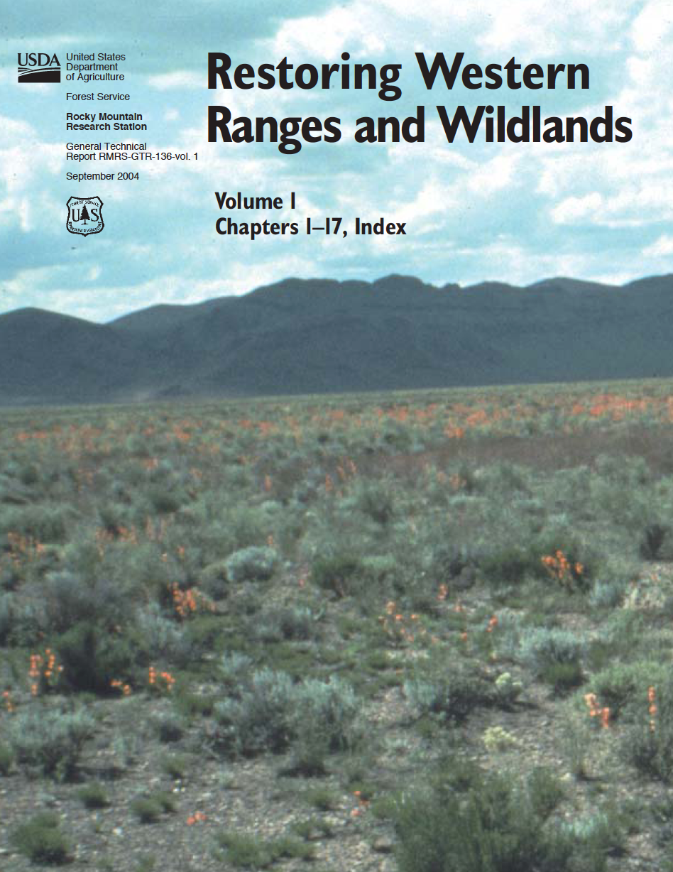 Thumbnail image of document cover: Restoring Western Ranges and Wildlands