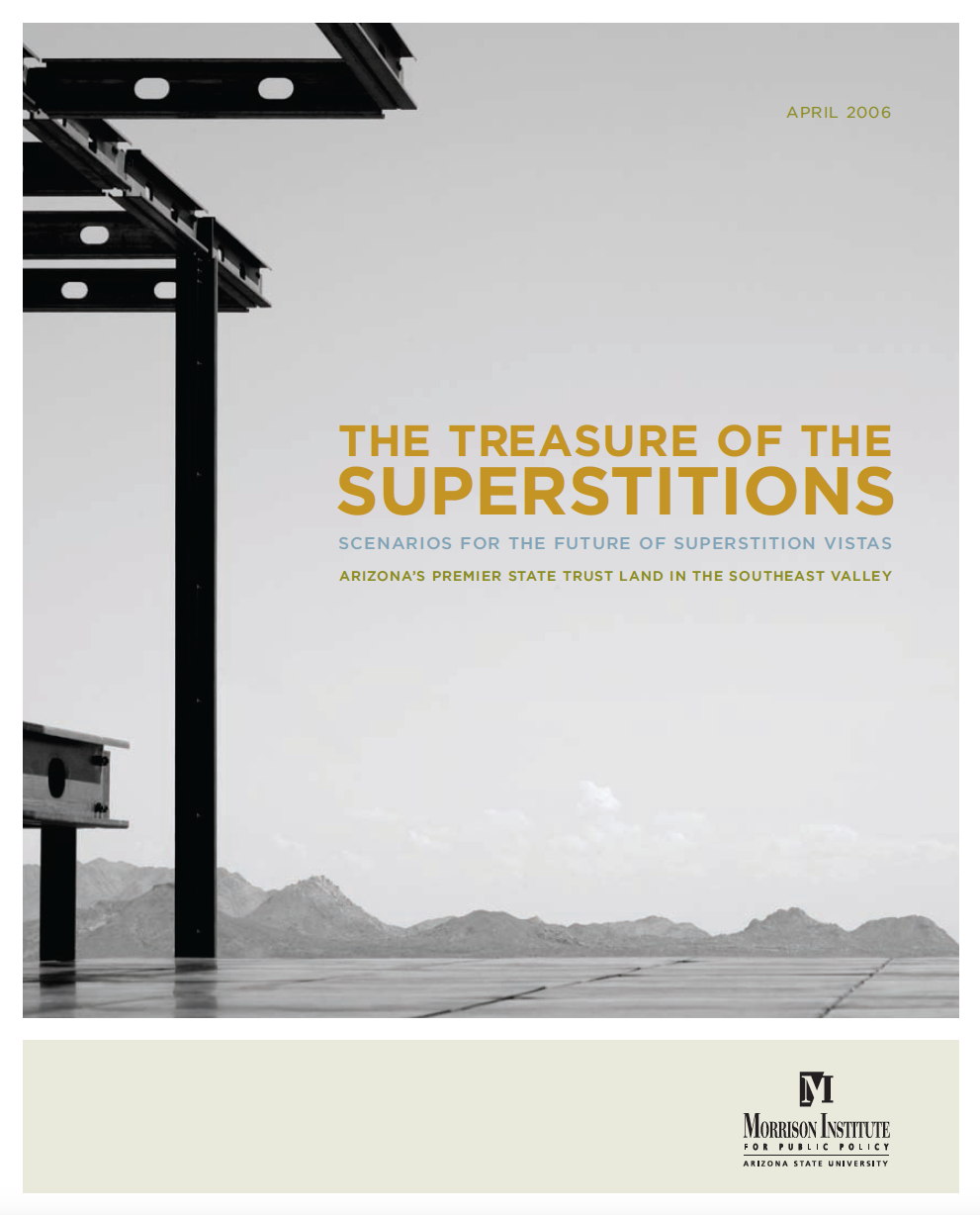 Thumbnail image of document cover: The Treasure of the Superstitions: Scenarios for the Future of Superstition Vistas