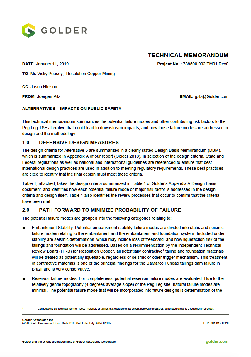 Thumbnail image of document cover: Alternative 5 -  Impacts to Public Safety