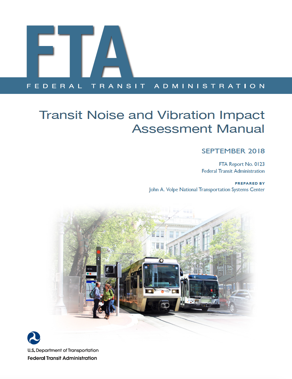 Thumbnail image of document cover: Transit Noise and Vibration Impact Analysis Manual