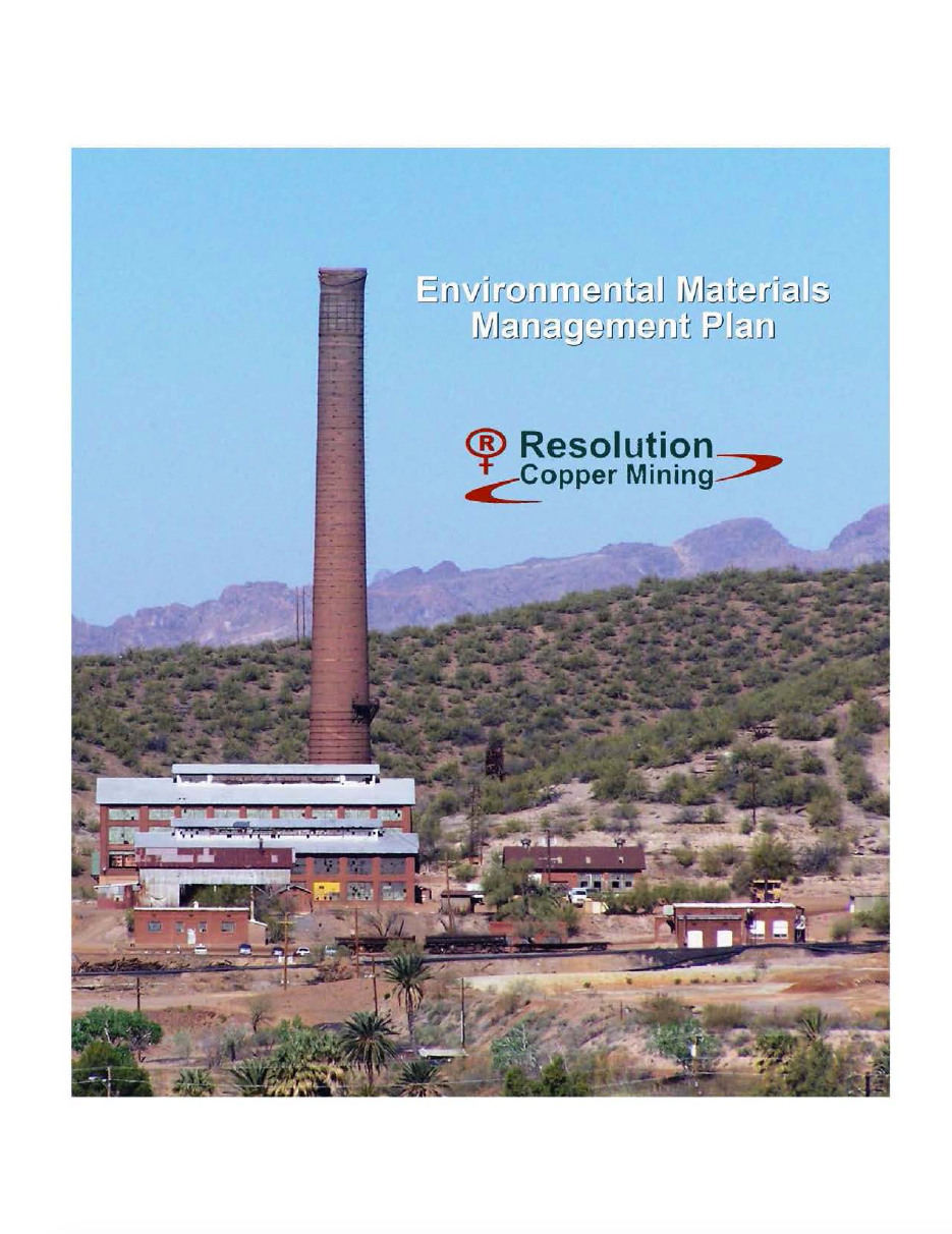 Thumbnail image of document cover: Appendix V: Environmental Materials Management Plan