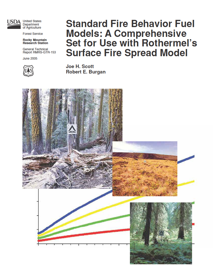 Thumbnail image of document cover: Standard Fire Behavior Fuel Models: A Comprehensive Set for Use with Rothermel's Surface Fire Spread Model