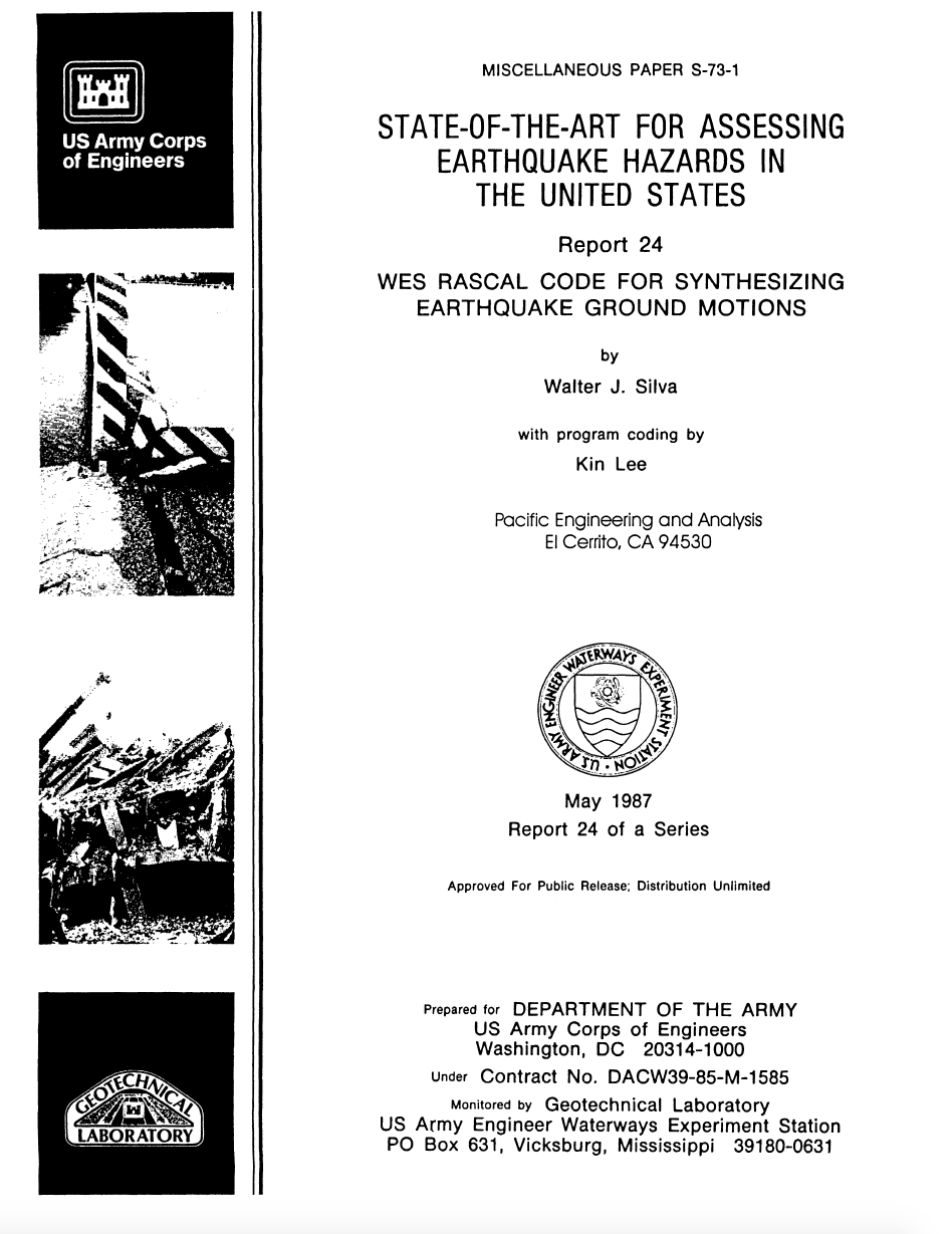 Thumbnail image of document cover: State-of-the-Art for Assessing Earthquake Hazards in the United States