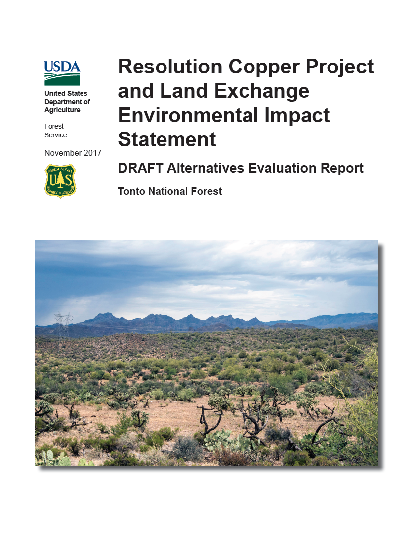 Thumbnail image of document cover: Alternatives Evaluation Report – Draft Final – November 2017