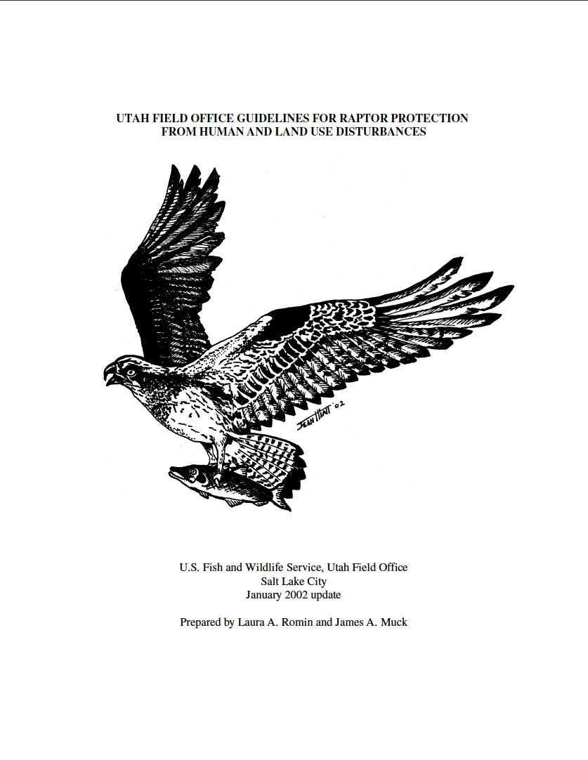Thumbnail image of document cover: Utah Field Office Guidelines for Raptor Protection From Human and Land Use Disturbances