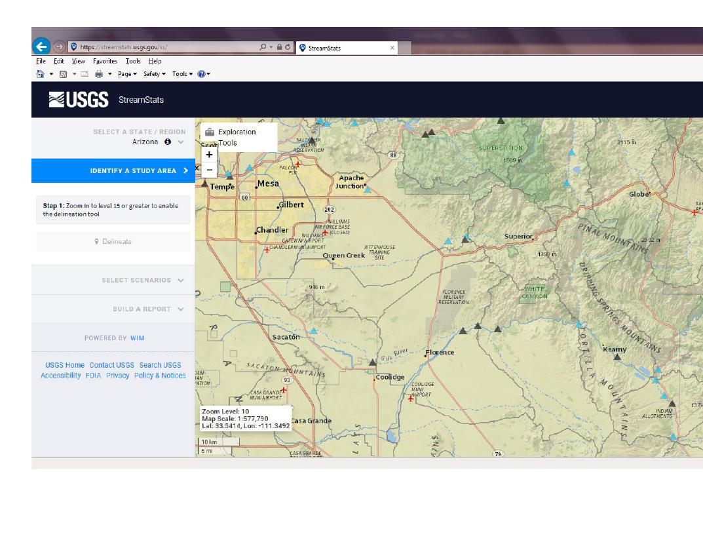 Thumbnail image of document cover: StreamStats: Arizona